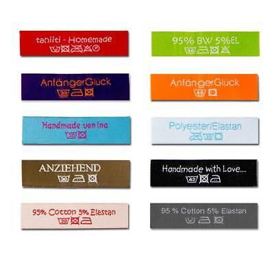 3 Handmade-Labels zum Aufnähen 14 503