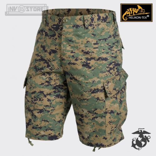 Pantaloni Bermuda HELIKON-TEX ACU Marpat USMC 100/% Original Tactical Shorts