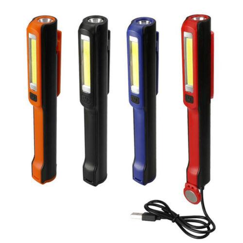 LED 1W COB 3W Stiftleuchte Stablampe,180 Grad gedreht