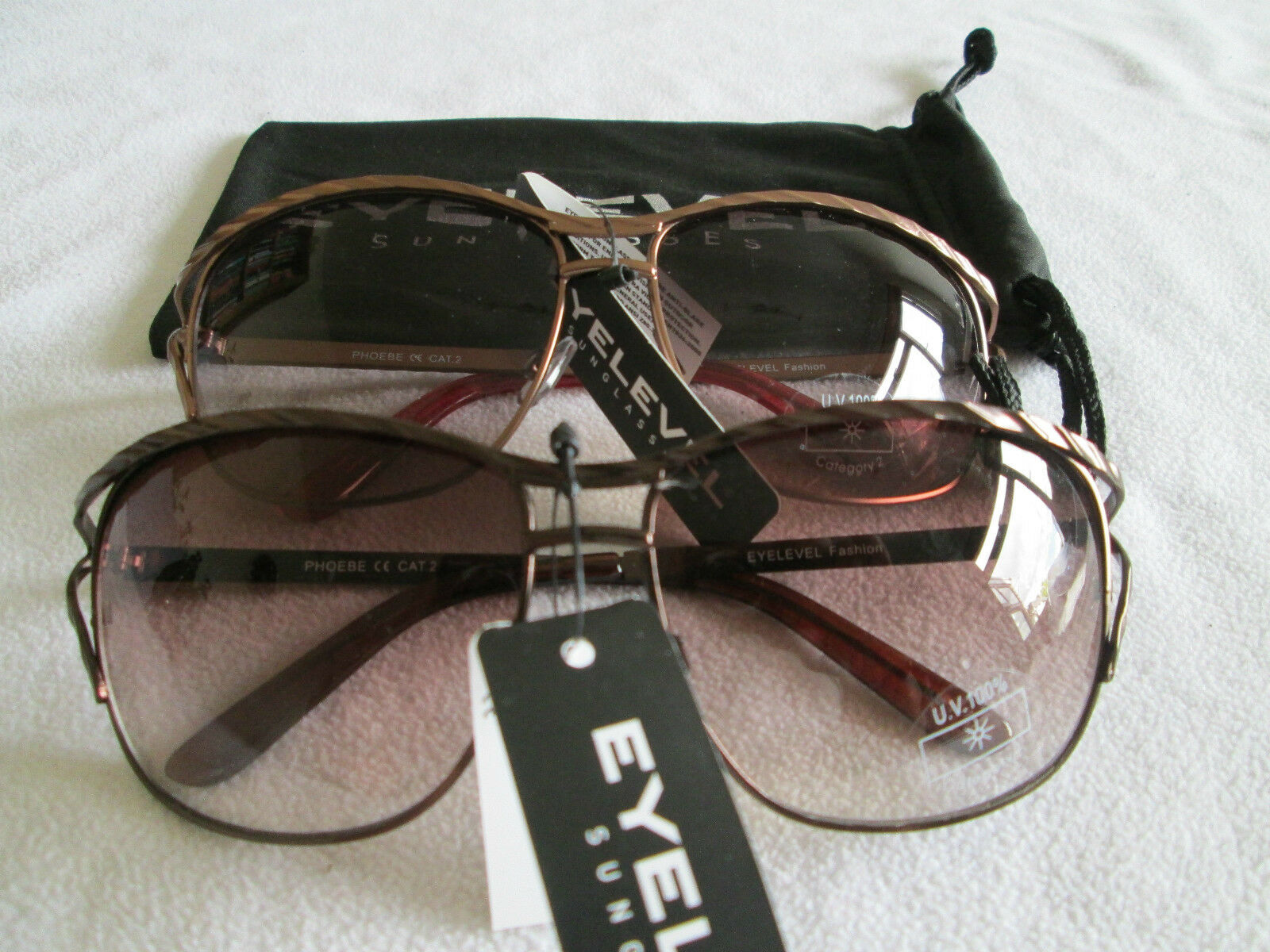 Eyelevel Phoebe sunglasses in bronze or copper. New.