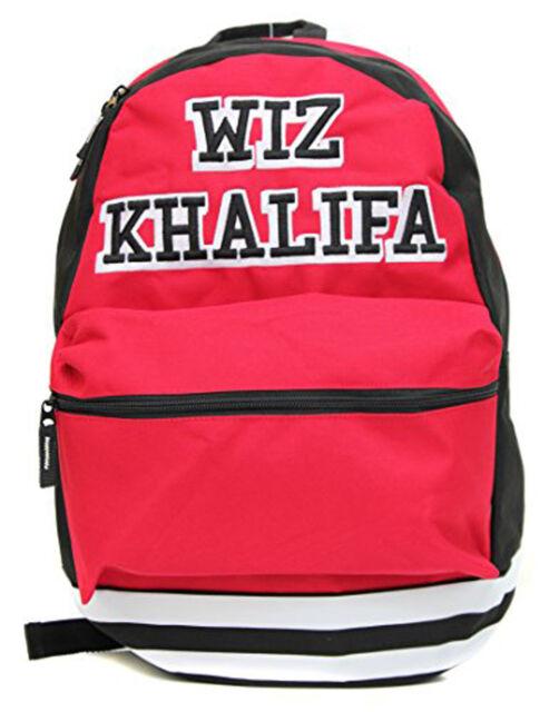 Wiz Khalifa Collegiate Backpack Red Bioworld