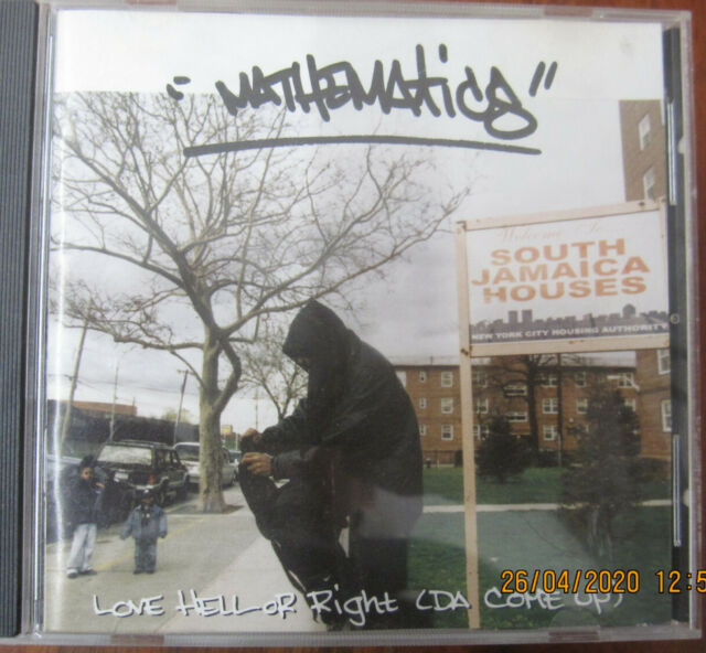 CD;  Mathematics, Love Hell or Right,   Sehr Gut
