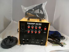 AC DC TIG WELDER  ALI S/TEEL Tig 200 P WITH PULSE 2 YEAR UK WARRANTY LAST FEW