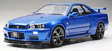Tamiya 24258 1/24 Scale Model Sports Car Kit Nissan Skyline GT-R R34 V-Spec II