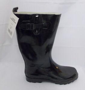 Misty-Mountain-Rain-Boots-Rubber-Technical-Performance-Black-size-8