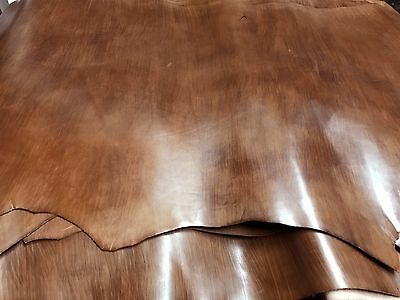 BROWN DISTRESSED UPHOLSTERY COWHIDE COW leather SEATS HANDBAGS BAGS 11sqf