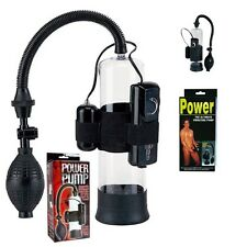 Vakuum Pumpe Potenzpumpe Penispumpe 8te PowerPumpBuster mit Vibration