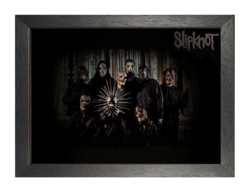 Slipknot 5American Heavy Metal Band Poster Scary Mask Photo Music Star Legend