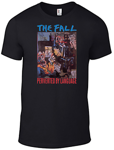The Fall T-shirt Mark E Smith Perverted by Language cd vinyl Band television B