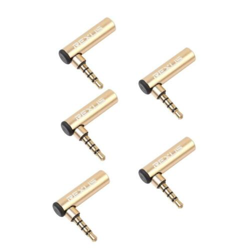 Hochwertige 90 Grad Kopfhörer Adapter Konverter OMTP zu CTIA Oder CTIA zu OMTP