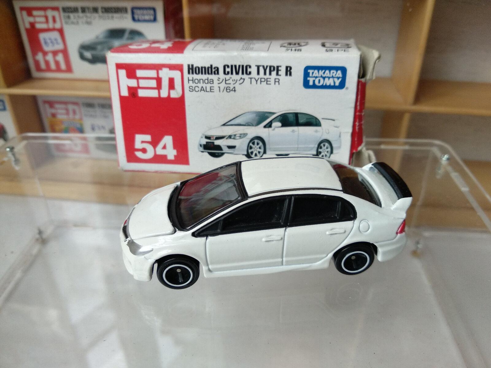 RARE Tomica 54 Honda Civic Type R White