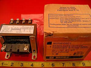 Square-D-9070EO2D1-Industrial-Control-Transformer-9070-EO2D1-9070E02D1-Nib-New