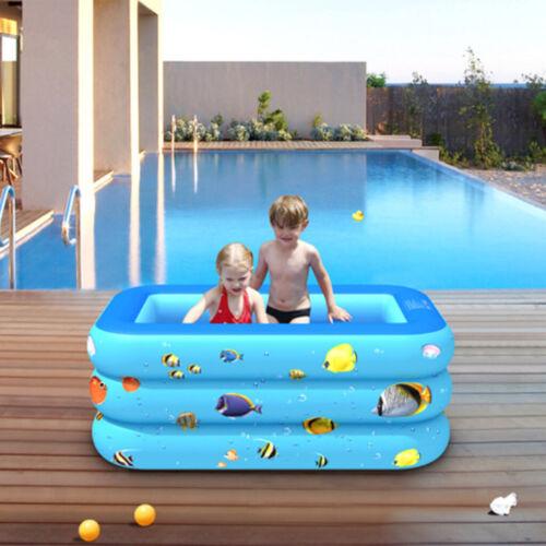 Rechteckige Familie Home Outdoor Hinterhof Sommer Wasser Party für Kinder