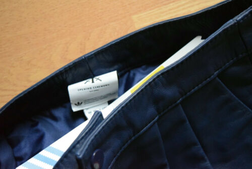Adidas Baseball Leather Short Hot Pants XS Opening Ceremony jeRemY sCoTT F83485