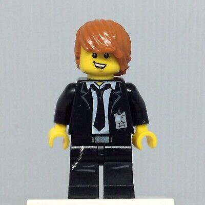 Set 70160 LEGO ULTRA AGENTS Agent Max Burns AUTHENTIC MINIFIG