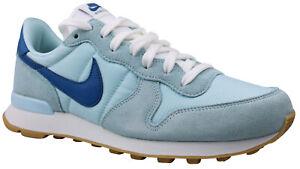 brand new ec150 6c3d1 Das Bild wird geladen Nike-Internationalist-Damen-Sneaker-Schuhe-828407-409- blau-