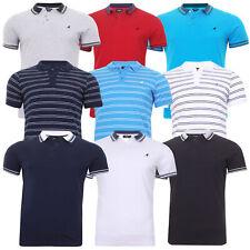 Mens Kangol Polo Shirt Short Sleeve Badminton Golf Casual Top Sport 6XL 5XL 2XL