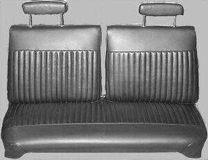 Admirable Details About 1970 Dodge Dart Swinger Swinger 340 Front Split Bench Seat Cover Pui Machost Co Dining Chair Design Ideas Machostcouk