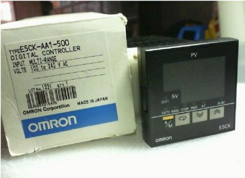 New in box 1PC Omron Digital Temperature Controller E5CK-AA1-500
