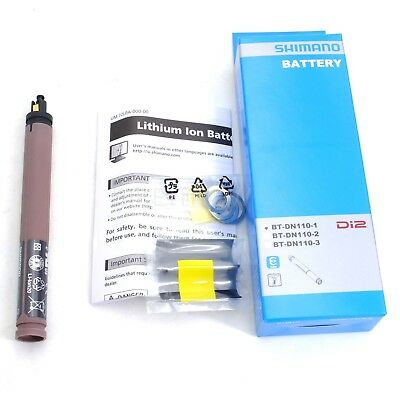 W//Recycle Mark BT-DN110-1 Built-In Type Shimano Battery Bulk IBTDN1101 NIB