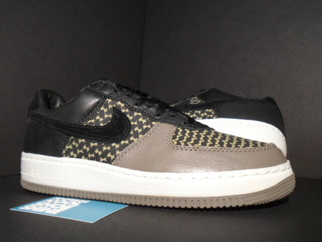 2006 Nike Air Force 1 Low IO Premium UNDEFEATED BLACK GREEN GREY 313213 032 11