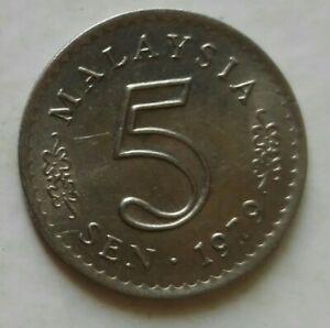Parliament Series 5 sen coin 1979