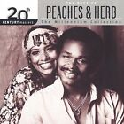 20th Century Masters - The Millennium Collection: The Best of Peaches & Herb by Peaches & Herb (CD, Aug-2002, Polydor)