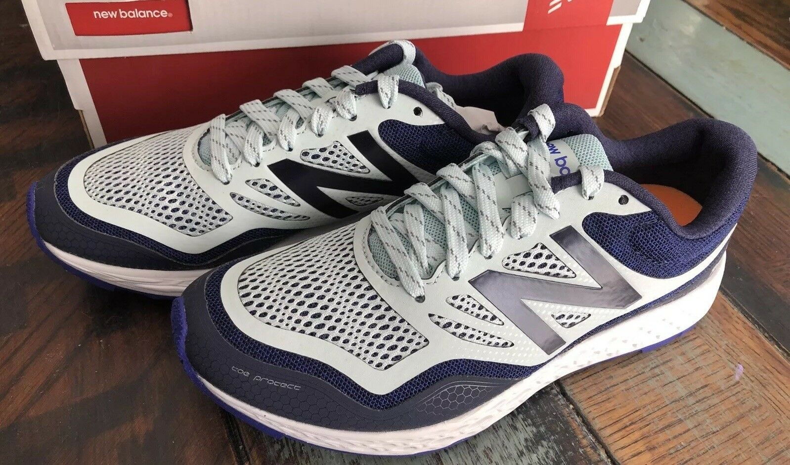NEW BALANCE Womens WTGOBING bluee Trail Running Athletic Running shoes Size 6.5