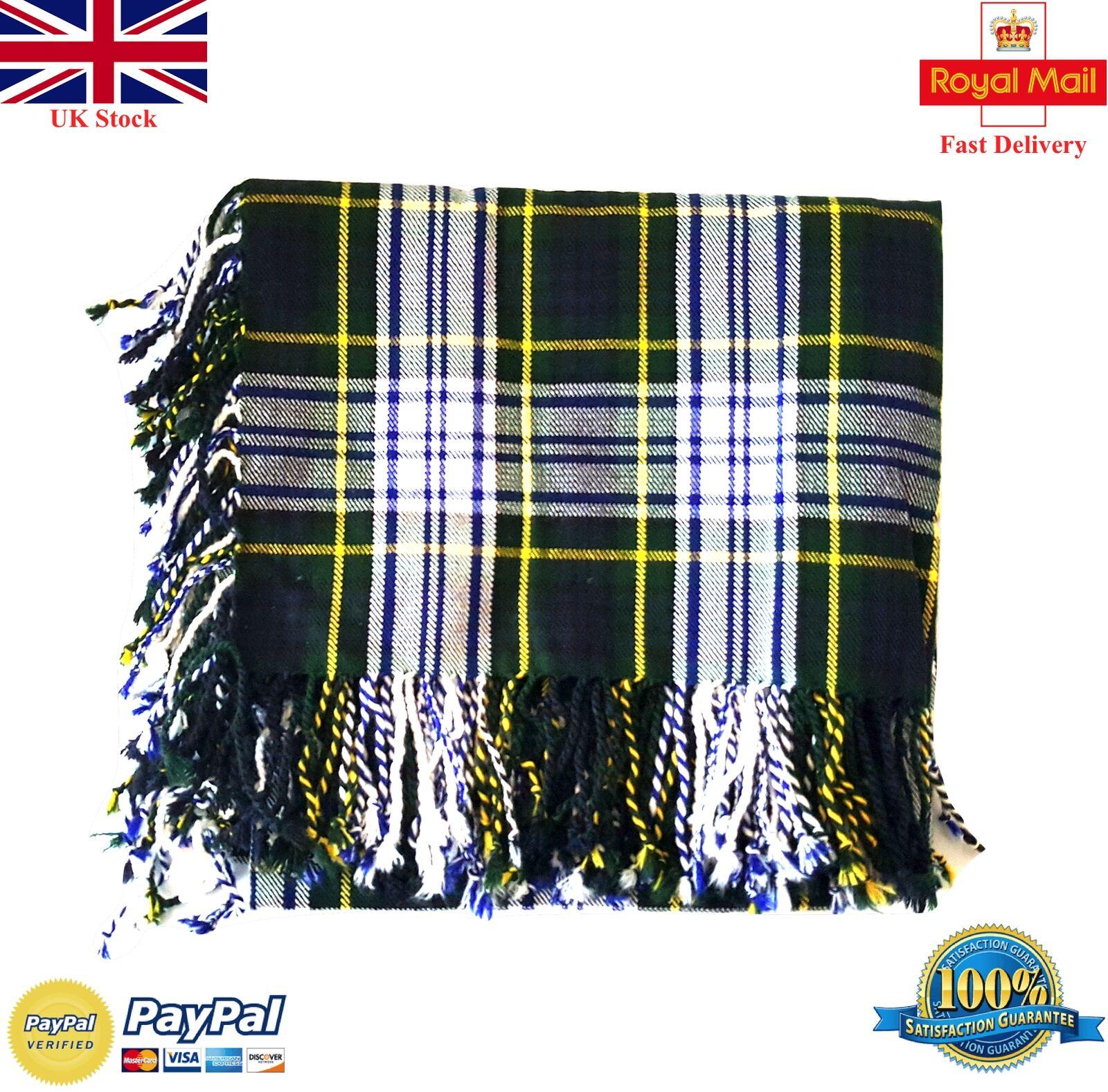 Men's Kilt Fly Plaid Dress Gordon Tartan 48