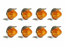 20 Pack Of 2.5 Amber Incandescent Truck Trailer Beehive Marker Lights