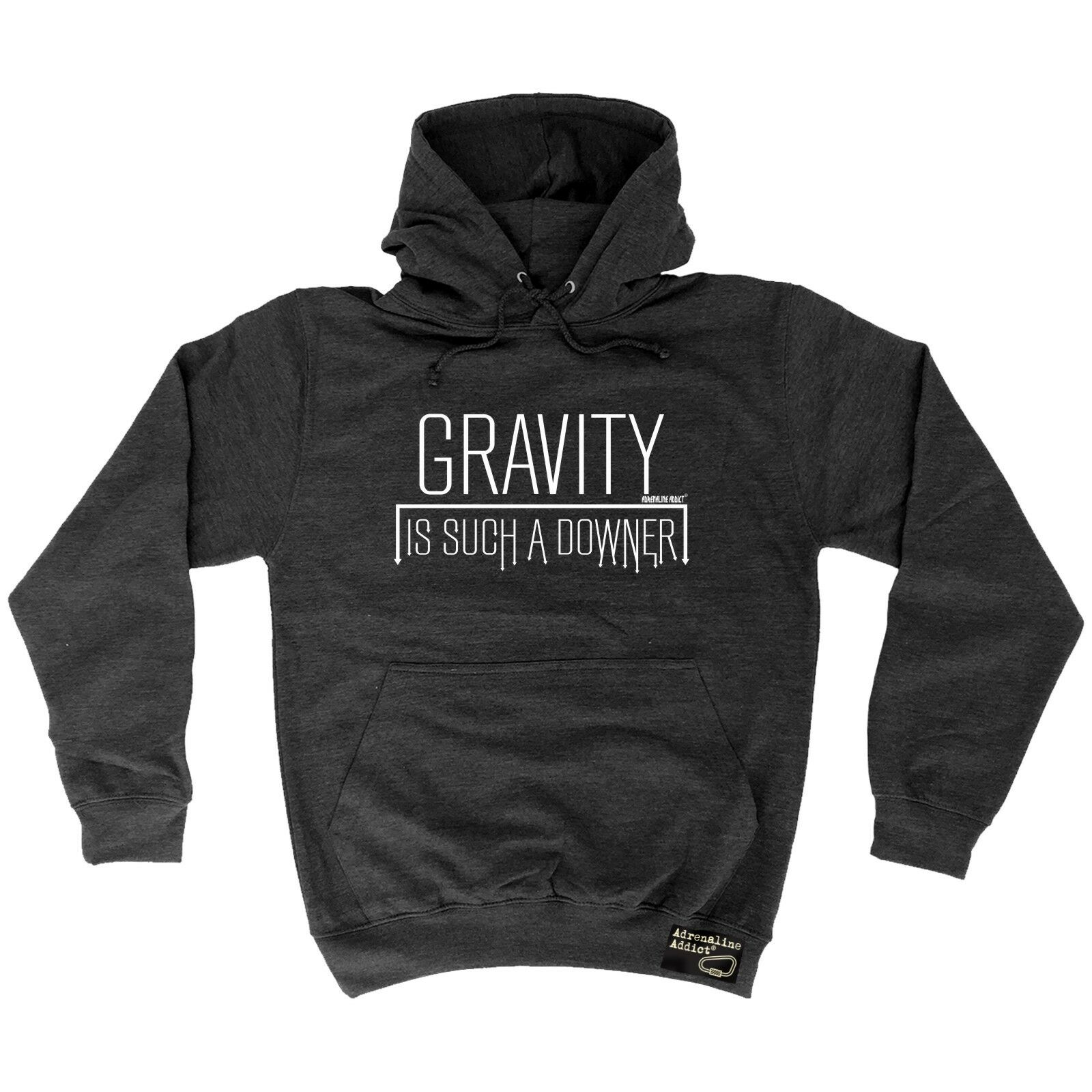 Climbing Hoodie Gravity Is A Downer hoody bouldering funny Birthdaysports HOODY