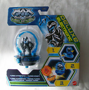 max steel turbo strength turbo battlers toy contains 5cm figure