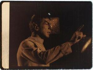 Star-Trek-TOS-35mm-Film-Clip-Slide-Where-No-Man-Has-Gone-Before-Spock-Pointing