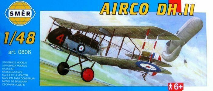 British WW1 Fighter 1//48 model kit, Smer 0806 Airco DH 2