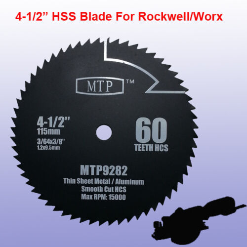 3x 4 12 inch metal wood tile saw blade for rockwell rk3441k worx description greentooth Image collections