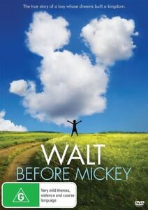 Walt-Before-Mickey-DVD-NEW-Region-4-Australia