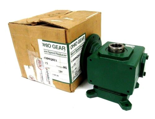 NEW OHIO GEAR FHMQ821HL WORM SPEED REDUCER RATIO 151 FHMQ821HL 1.5HP