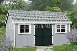 Details About Garden Tool Storage Shed Plans 10 X 20 Gable Roof D1020g Free Material List