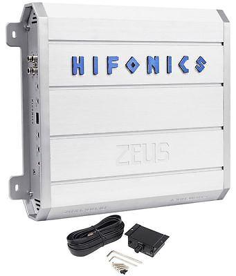 Hifonics ZRX1200.1D 1,200 Watt RMS Mono Class D Amplifier Car Amp + Bass Remote