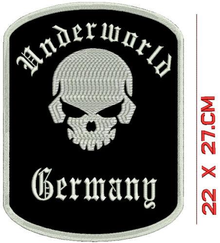 sainchargny.com Toten Kopf Underworld Germany Rckenpatch Aufnher ...