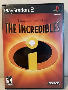 The Incredibles Disney PIXAR PlayStation 2  PS2 Video Game complete