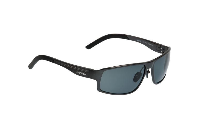 Ugly Fish Polarised Sunglasses PN24203 Avalanche Gunmetal Frame Smoke Lens