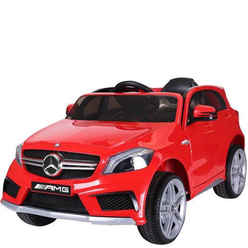 Auto elettrica per bambini 12V Mercedes Benz GLA Fuoristrada con telecomando