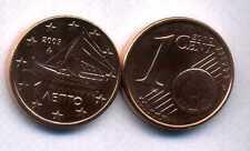 GRECE    1 cent  2005  SPL  neuve  ( sortie du rouleau )