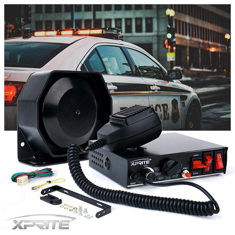 200w G2 Siren Mic System Vehicle Warning Horn Siren Kit