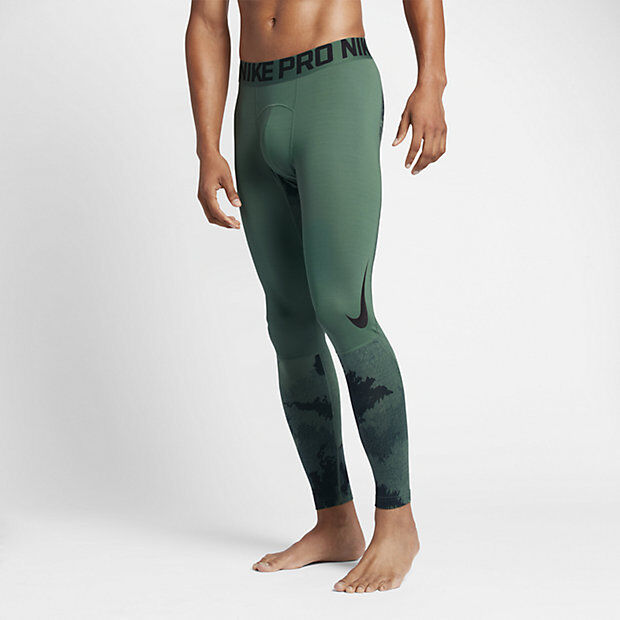 NIKE PRO HYPERWARM PRINTED herren TRAINING TIGHTS Style 801986-340 MSRP  60