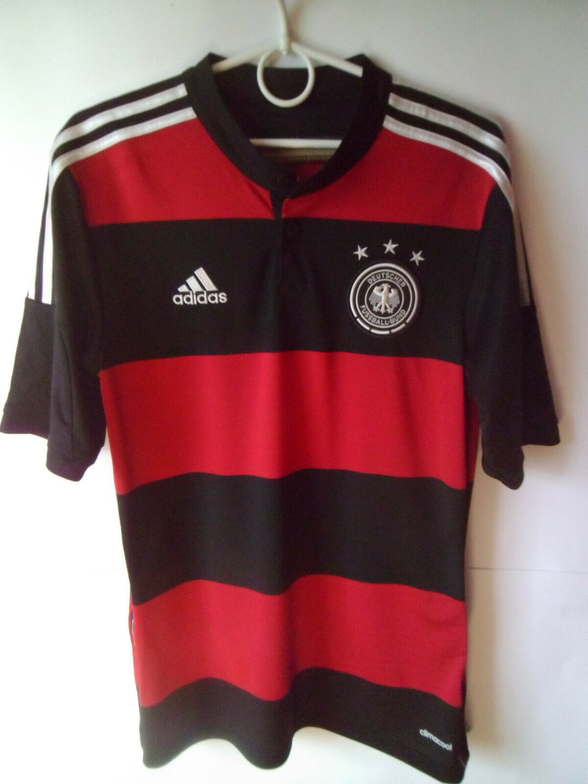 EXCELLENT    2014-15 Germany Away Shirt Trikot Jersey S