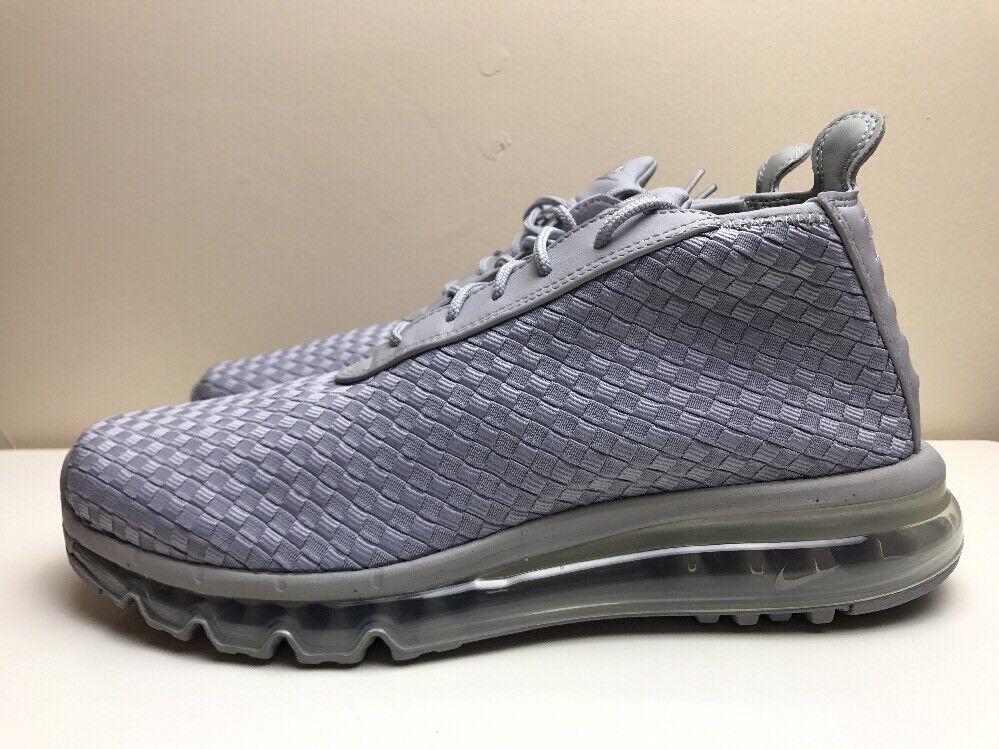 Nike Max Woven Boot Air Grigio Da Uomo EUR 44.5 921854 001