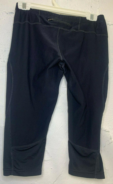 Mondetta Performance Gear MPG Black Capri Length Leggings Womens Size Small Sm S