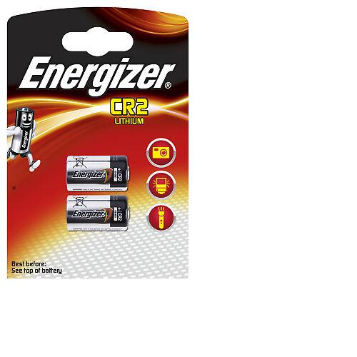 Energizer Lithium Photo CR2 DLCR2 ELCR5 CR17355 2er Blister, MHD 12/2026